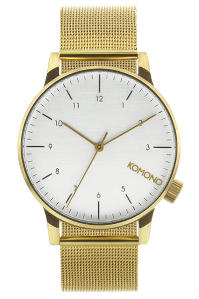 Komono Winston Royale Montre (gold white)