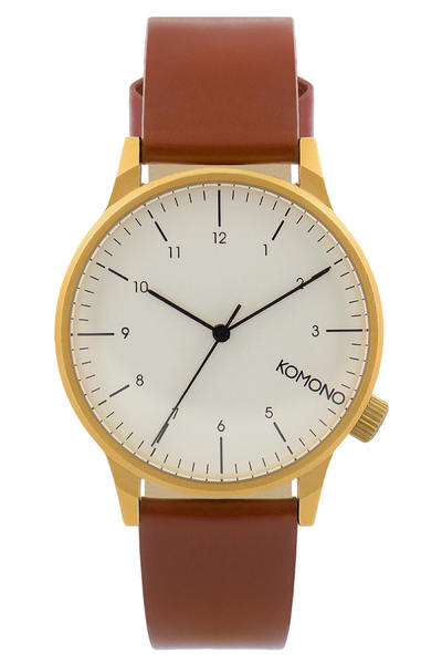Komono Winston Regal Watch (chestnut)