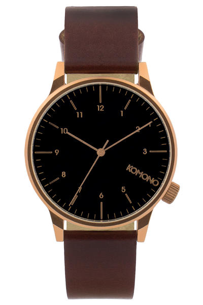 Komono Winston Regal Watch (burgundy)