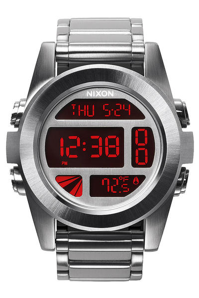 Nixon The Unit SS Uhr (silver red)