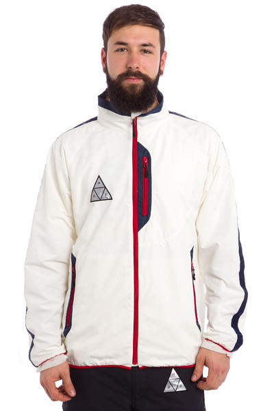 HUF All Set Track Jacket (white)