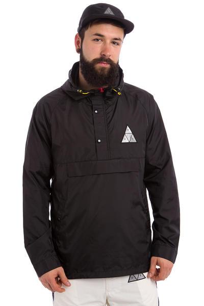 HUF Varick Packable Jacke (black)