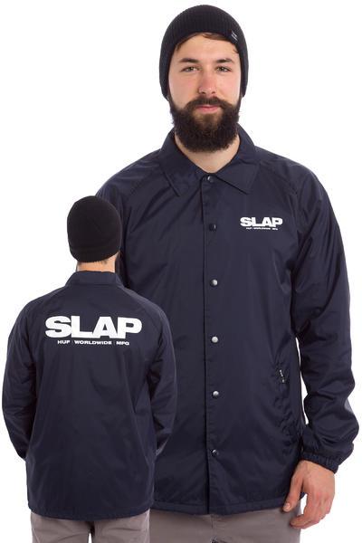 HUF x Slap Coaches Jacke (navy)