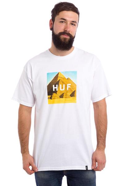 HUF Pyramids Box Logo T-Shirt (white)