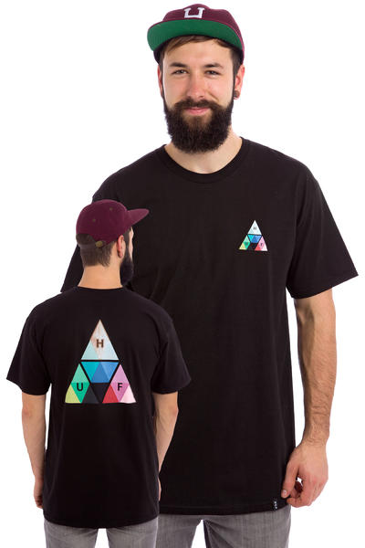 HUF Triangle Prism T-Shirt (black)