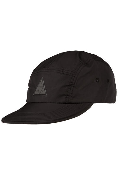 HUF Packable Nylon Volley 5 Panel Cap (black)