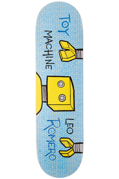 "Toy Machine Romero Toon Time 8.375"" Deck (blue)"