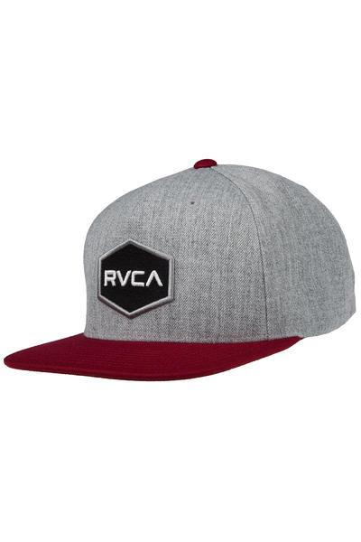 RVCA Commonwealth Snapback II Cap (heather grey)