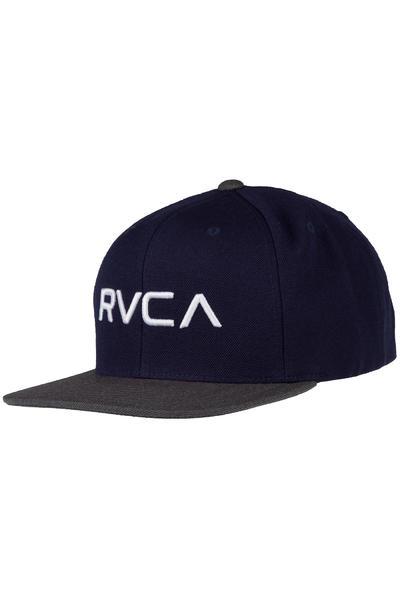 RVCA RV Twill Snapback III Cap (navy charcoal)