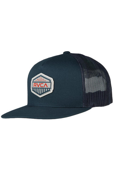 RVCA Cargo Trucker Cap (blue orange)