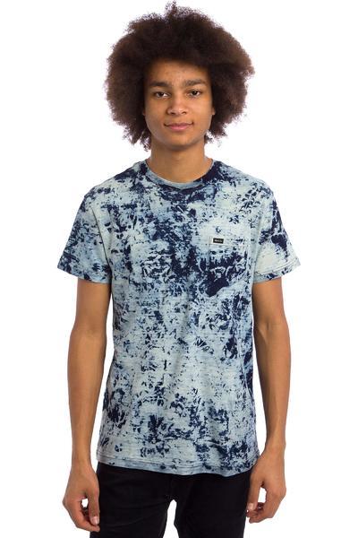 RVCA PTC Indigo T-Shirt (bleach)