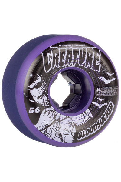 OJ Wheels Bloodsucker Fives 56mm Wheel (purple) 4 Pack