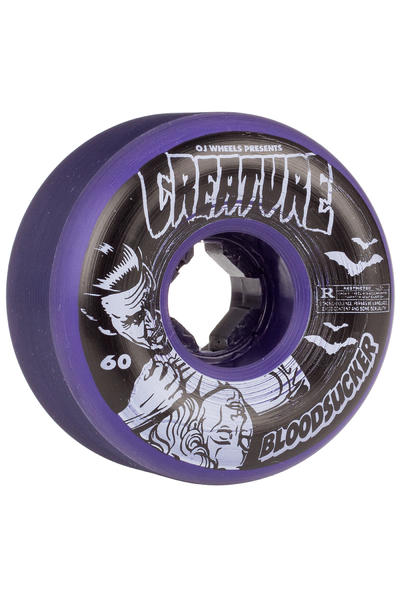 OJ Wheels Bloodsucker Fives 60mm Wheel (purple) 4 Pack