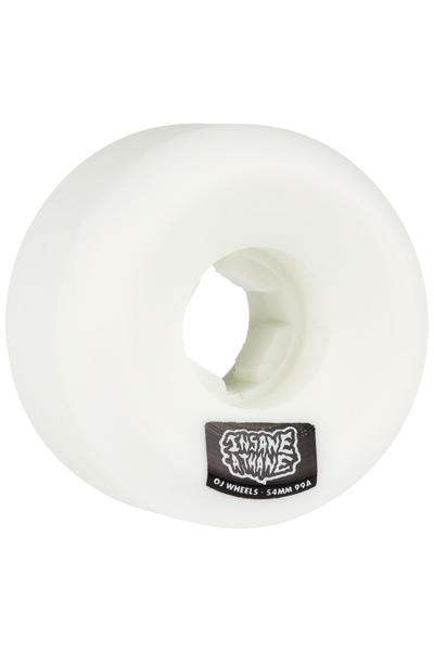 OJ Wheels Insaneathane Hard Line 54mm Rueda (white) Pack de 4