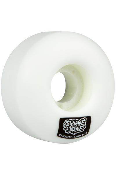 OJ Wheels Insaneathane EZ Edge 52mm Rueda (white) Pack de 4