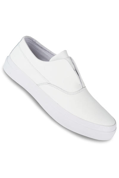 HUF Dylan Slip On Leather Shoe (white)