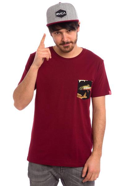 Private The Fish Pocket T-Shirt (burgundy)