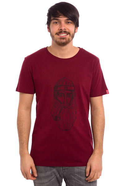 Private Oldman T-Shirt (burgundy)
