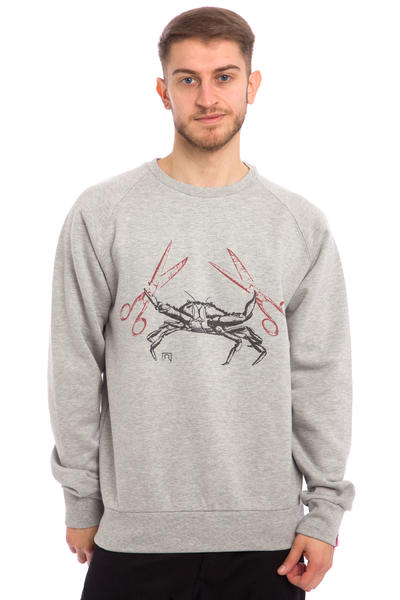 Private Crab Sweatshirt (heather grey)