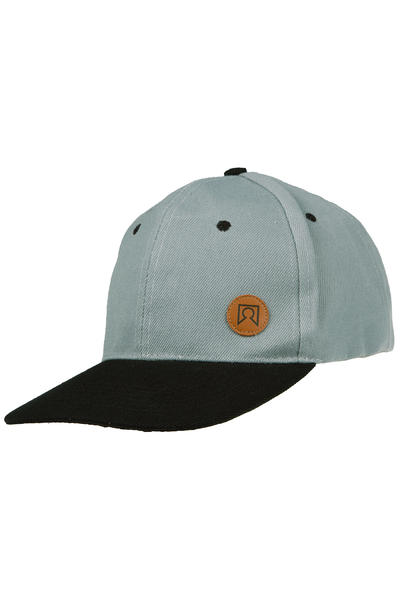 Private Mini Logo Snapback Cap (grey black)