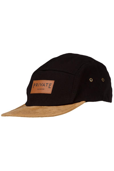 Private Fun Fashion 5 Panel Cap (black velvet)