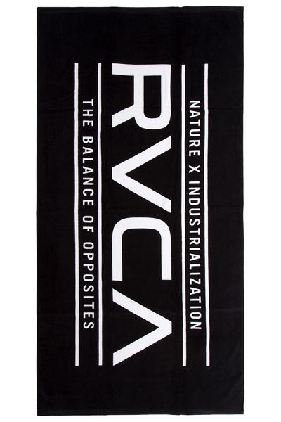 RVCA Nature Beach Towel (black)