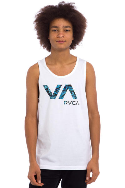 RVCA Tropic Doom Tank-Top (white)