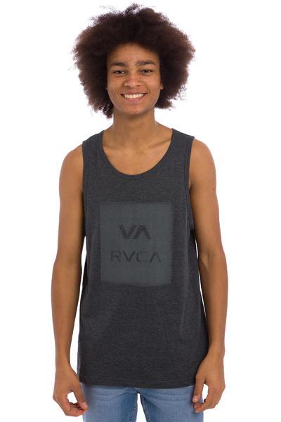 RVCA Overlap Copy Camiseta de tirantes (charcoal heather)