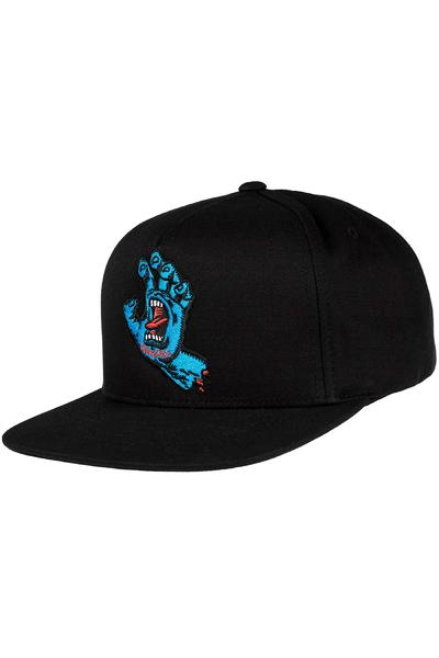 Santa Cruz Screaming Hand Snapback Cap (black)