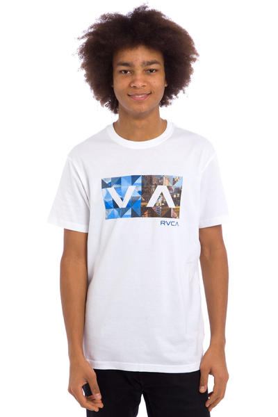 RVCA Building Balance Box T-Shirt (white)