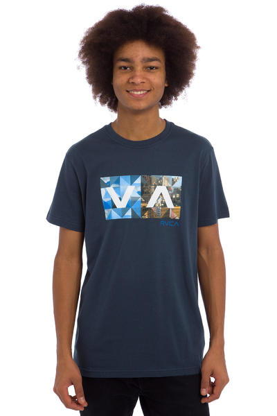 RVCA Building Balance Box T-Shirt (midnight)