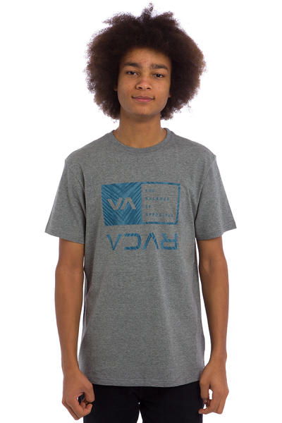 RVCA Palm Box T-Shirt (athletic heather)