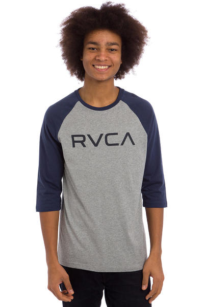 RVCA Big RVCA Raglan Longsleeve (athletic heather midnight)