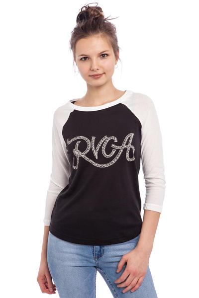 RVCA Rope RVCA Longsleeve women (black vintage white)