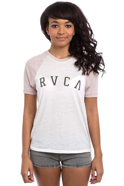 RVCA Arc Raglan T-Shirt women (vintage white tea rose)