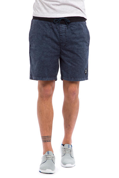 RVCA Chosen Elastic Shorts (acid indigo)
