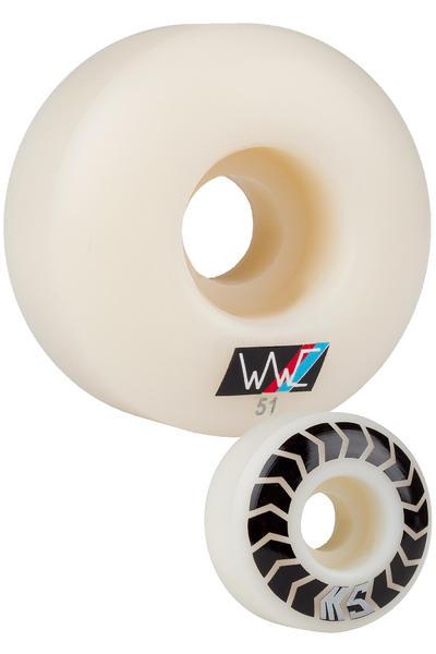 Wayward Silvas Chevrons 51mm Wheel 4 Pack
