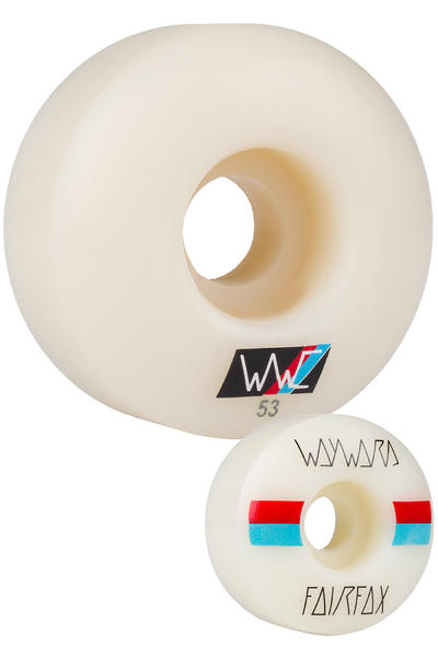 Wayward Fairfax Race Stripes 53mm Rollen 4er Pack