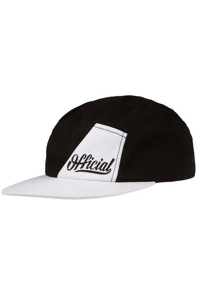Official Crown of Laurel TX Urbano 5 Panel Cap (black white)