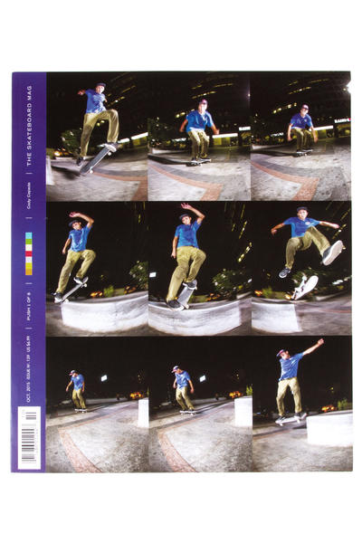 The Skateboard Mag Oktober 2015 Revista