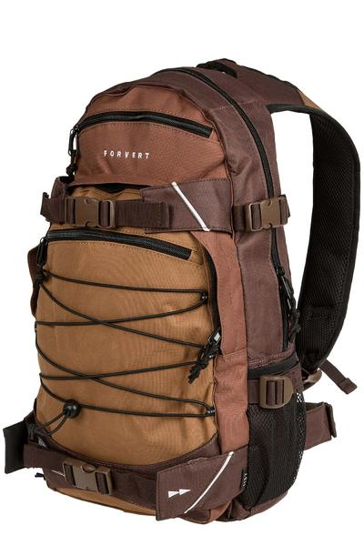 Forvert Three Color Louis Backpack 19L (brown)