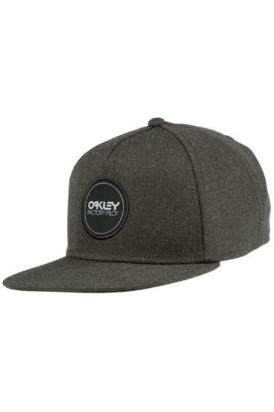 Oakley Factory Pilot Novelty Strapback Cap (jet black)