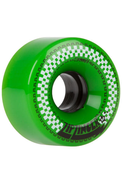 Krooked Zip Zinger 58mm Wheel (green) 4 Pack