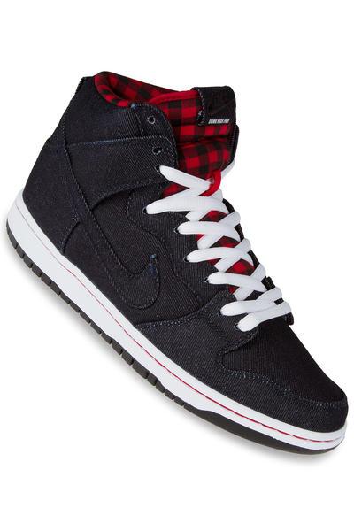 Nike SB Dunk High Premium Schuh (dark obsidian)