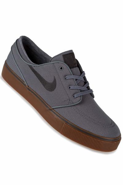 Nike SB Zoom Stefan Janoski Canvas Schuh (cool grey anthracite)