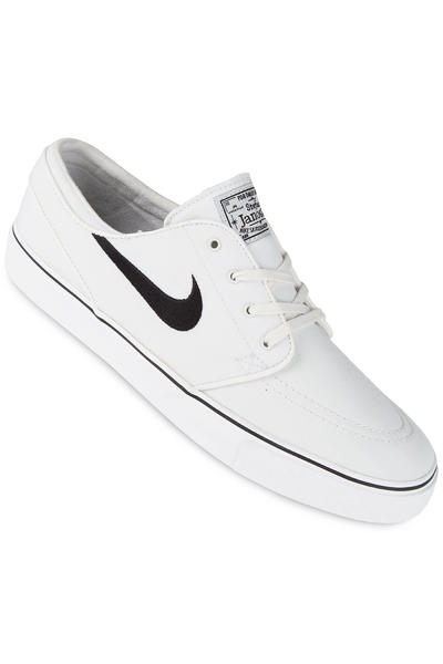 Nike SB Zoom Stefan Janoski Canvas Shoe (summit white black)