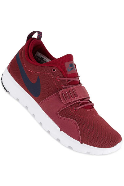 Nike SB Trainerendor Shoe (team red obsidian)