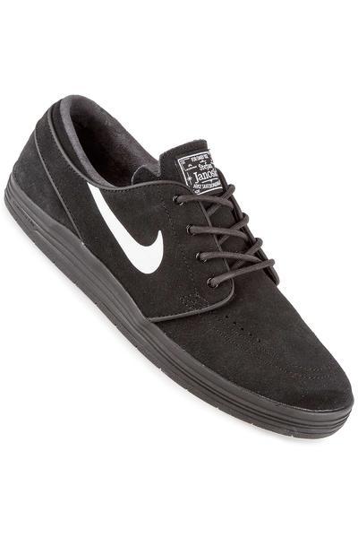 Nike SB Lunar Stefan Janoski Schuh (black black white)
