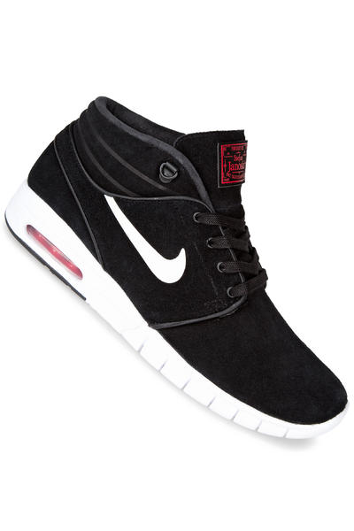 Nike SB Stefan Janoski Max Mid Chaussure (black white university red)