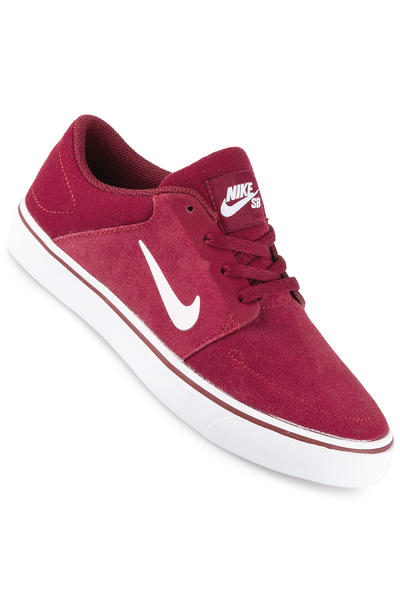 Nike SB Portmore Schuh kids (team red white)